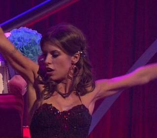 Elisabetta Canalis, la peggiore a Dancing With The Stars