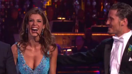 Elisabetta Canalis rinasce a Dancing With The Stars