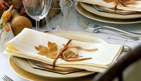 Idee per decorare la tavola in autunno