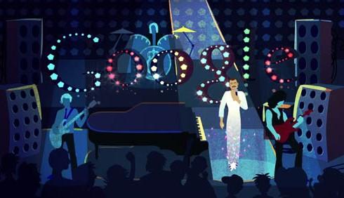 65 anni di Freddie Mercury in un doodle di Google