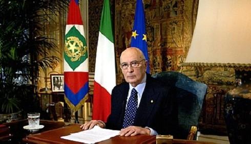 Giorgio Napolitano contro la secessione di Umberto Bossi