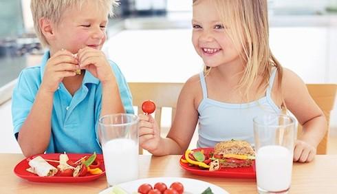 Come capire se l'alimentazione dei vostri figli è salutare