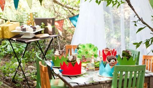 Idee per una festa per bambini eco-friendly