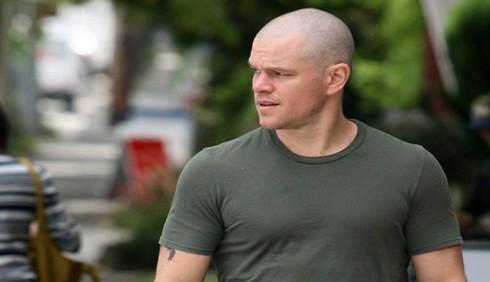 Matt Damon si rasa a zero per il film Elysium