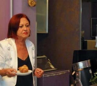 Vanna Marchi diventa barista
