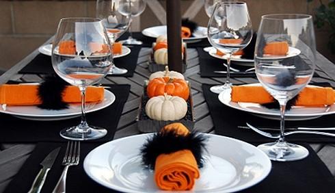Come decorare la tavola in stile Halloween