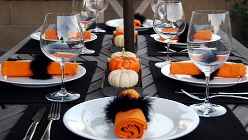 Come decorare la tavola in stile halloween diredonna - Decorazioni tavola halloween ...