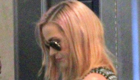 Katy Perry si è tinta di biondo
