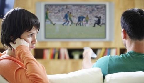 Uomini e calcio, la coppia scoppia