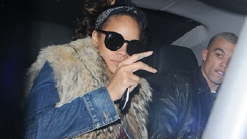 Rihanna ama un pugile simile a Chris Brown