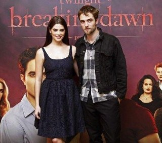 Robert Pattinson e Ashley Greene a Bruxelles