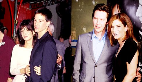 Sandra Bullock esce con Keanu Reeves?