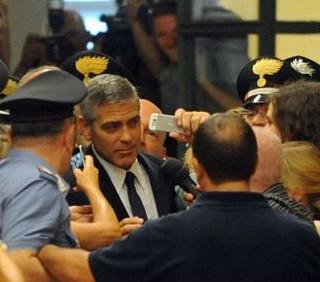 George Clooney e i VIP del caso Ruby, le foto