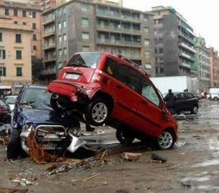Alluvioni anche nel sud Italia, cessato allarme a Torino