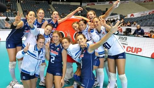 World Cup di volley: Italia campione del mondo