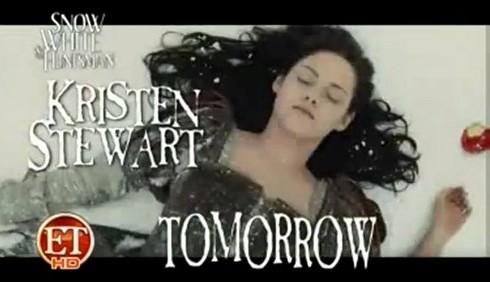 Biancaneve e il cacciatore: primo video con Kristen Stewart
