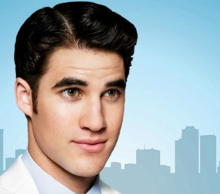 "Darren Criss in ""How to succeed in business without really trying"""