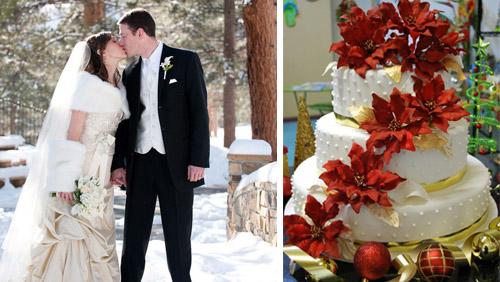 Matrimonio Natale Addobbi : Un matrimonio a natale diredonna