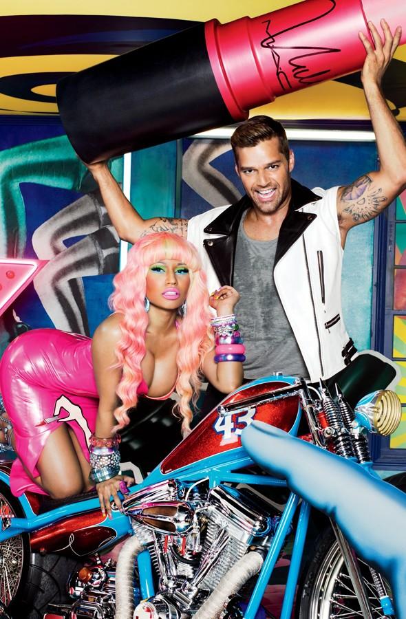 Ricky Martin e Nicky Minaj per Viva Glam 2012