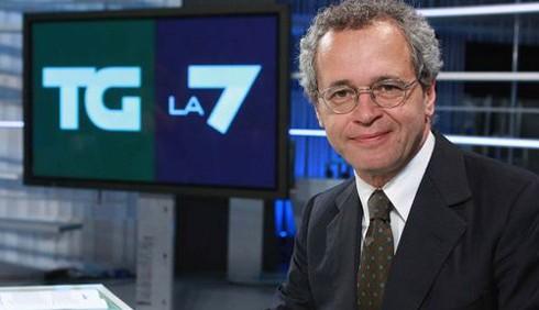 Enrico Mentana si dimette dal TG di La7