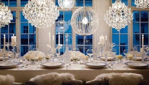 Idee per decorare la tavola a Capodanno 2012