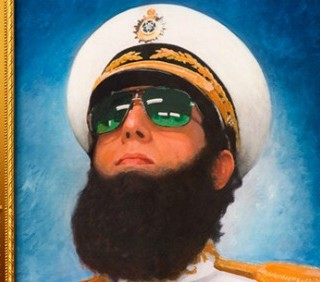 "Sacha Baron Cohen in ""The Dictator"", immagini"