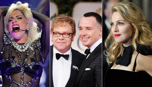 Lady Gaga: Elton John la difende contro Madonna