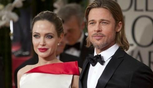 Angelina Jolie e Brad Pitt, Golden Globe brevi per i figli