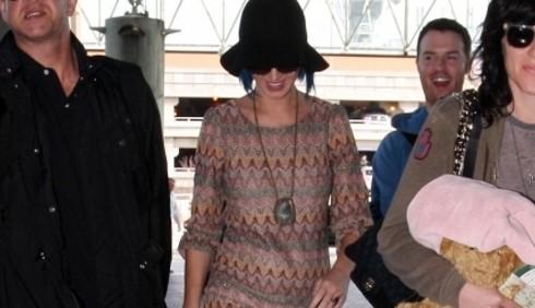 Katy Perry toglie la fede
