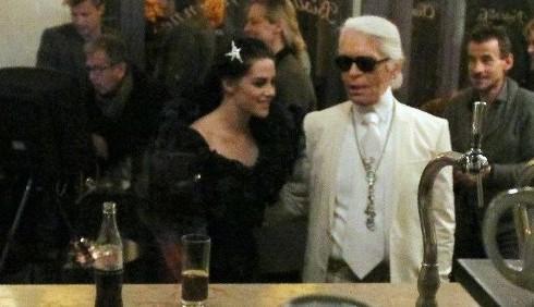 Kristen Stewart nuova musa di Karl Lagerfeld?