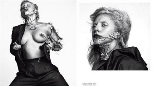 Lady Gaga nuda su L'Uomo Vogue