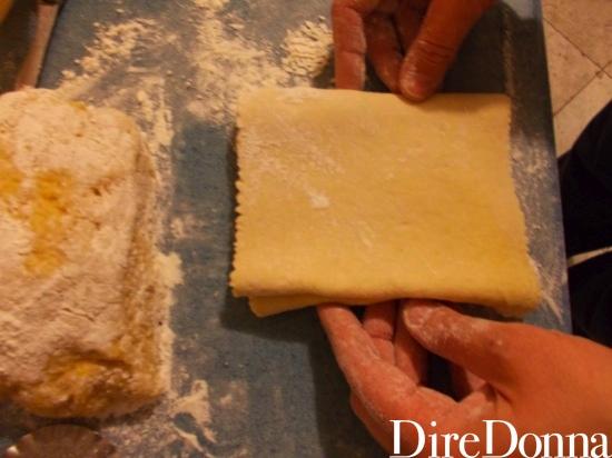 Pasta arrotolata