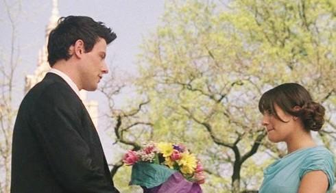 Lea Michele e Cory Monteith coppia oltre Glee
