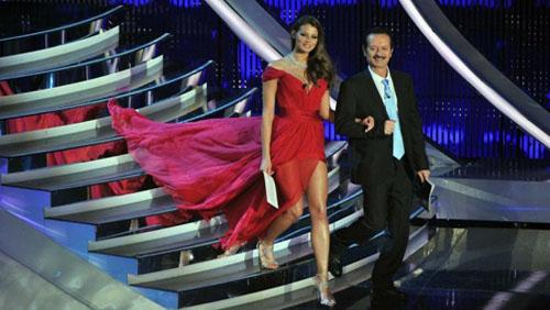 Sanremo 2012 gli abiti della terza serata diredonna - Divi senza trucco ...