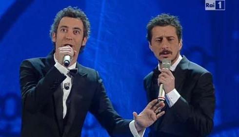 Sanremo, Adriano Celentano e Luca & Paolo