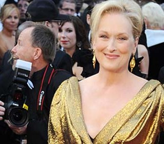 "Oscar 2012: Meryl Streep in ""The Iron Lady"""
