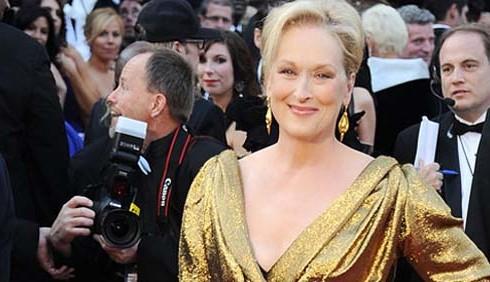 Oscar 2012: Meryl Streep in