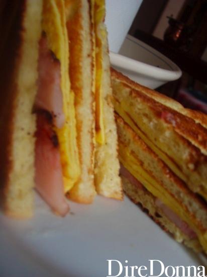 Club sandwich da vicino