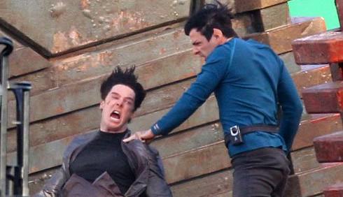 Star Trek 2, foto del set