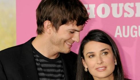 Ashton Kutcher non sopportava più Demi Moore?