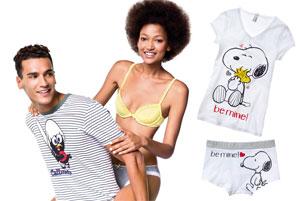 vendita calda online 205a5 127f8 Intimo Benetton: omaggio a Snoopy e Calimero | DireDonna