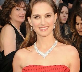 Natalie Portman agli Oscar 2012