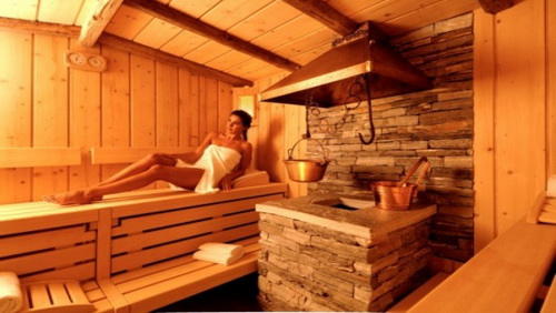 Sauna e bagno turco trattamento disintossicante diredonna