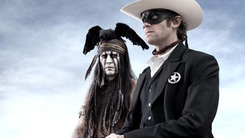 "Johnny Depp, prima foto da ""The Lone Ranger"""