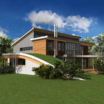 La casa ecosostenibile del futuro diredonna for Casa ecosostenibile prefabbricata