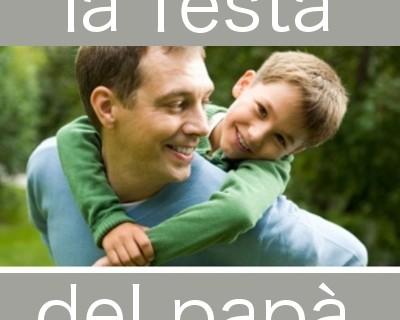 Oggi festa del papà