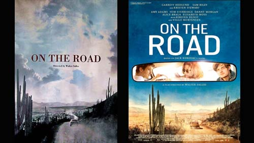 """On The Road"" con Kristen Stewart, la locandina"