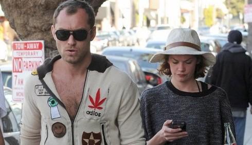 Jude Law e Ruth Wilson nuova coppia?