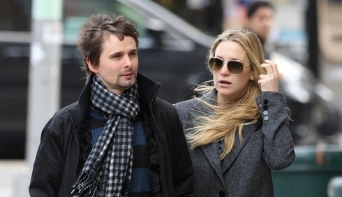 Kate Hudson e Matt Bellamy non sono sposati