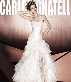 7cbfc9e3fba9 Carlo Pignatelli  abiti da sposa Fiorinda 2012 - DireDonna